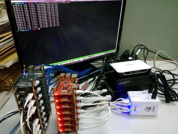 Banana pi BPI-M3 pi-cluster project - Projects - banana pi single ...
