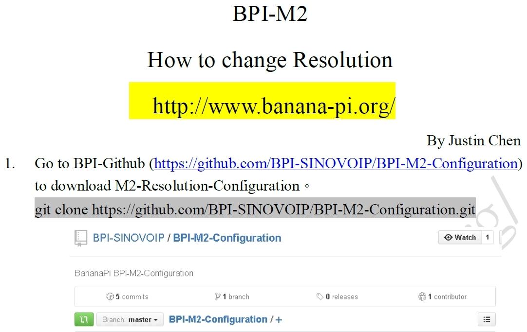 Screen Size on Raspbian - Banana Pi BPI-M2 - banana pi single board