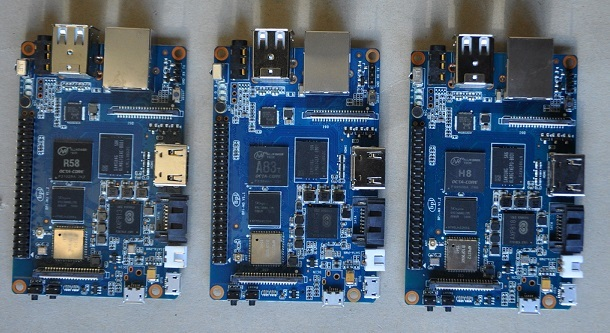BPI-M3 with R58,H8,A83T chip on board .so cool - Projects - banana ...