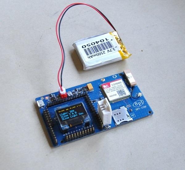 BPI IoT] BPI-GSM module with arduino - GSM module - banana