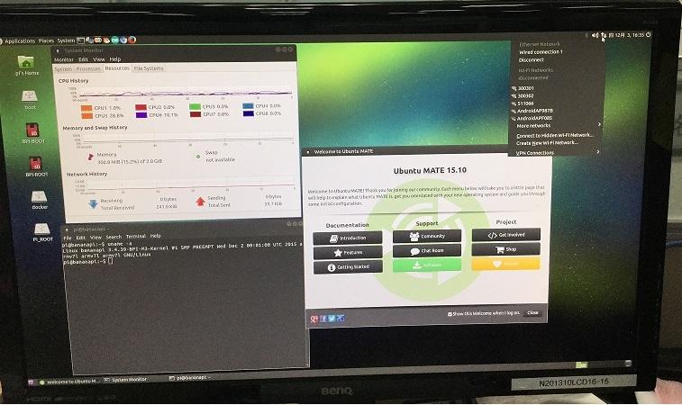 BPI-M3 new image:Ubuntu Mate 15 10 for BPI-M3 (20151203
