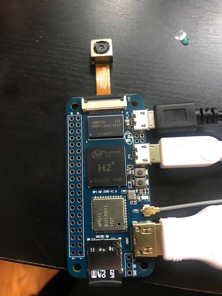 BPI-M2 Zero + Camera + Armbian support? - BPI-M2+/BPI-M2 Zero/BPI-P2