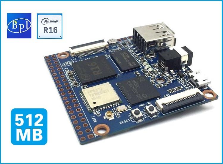 Banana pi BPI-M2 Magic board ,design with allwinner R16 and