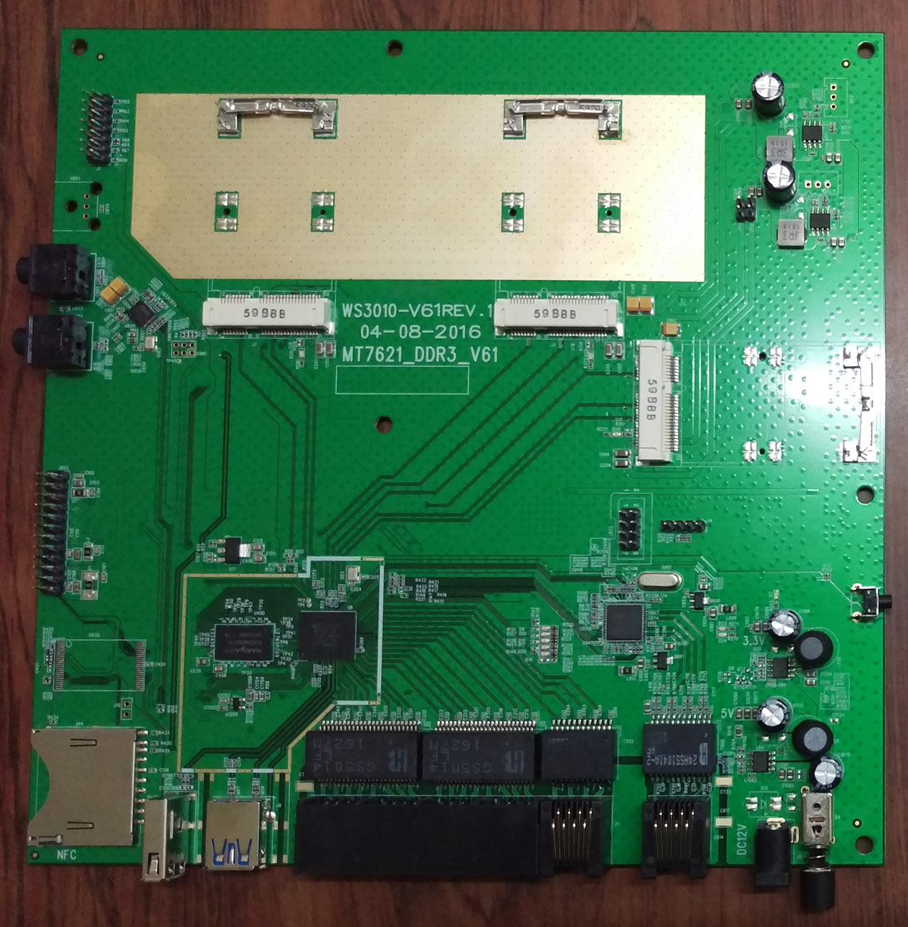 BPI-R2 with BPI-7615(based on MT7615) module development progress