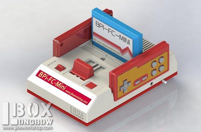 BPI-M2+ box: Nintendo game boxs 3D print DIY - Projects - banana pi ...