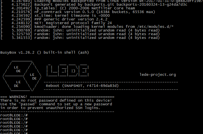 Banana pi BPI-R2 LEDE OpenWRT development in progress - OpenWRT