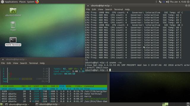 BPI-M2+ new image :BPI-M2+ Kernel 4 4 55 - Image - banana pi