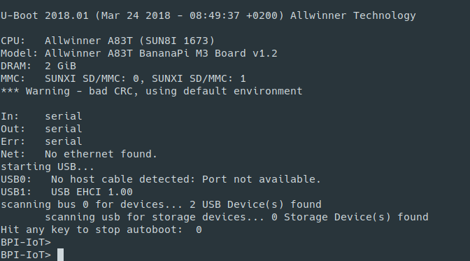 Banana Pi BPI-M3 new image :Arch Linux sunxi kernel-4 18-rc3 and