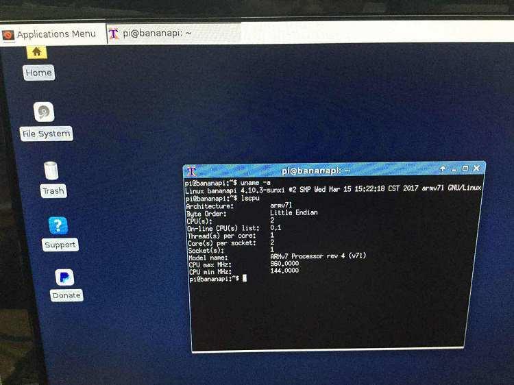 BPI-M1: bananapi kernel 4 10 3 + uboot 2017 03 - Linux - banana pi