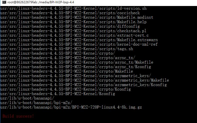 Build BPI-M2Z-bsp bsp fail for P2 zero - Linux - banana pi