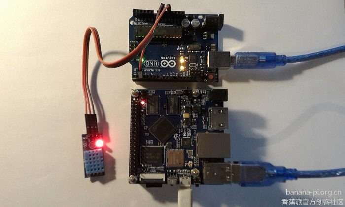BPI-M2+ Weather station:Air pressure sensor, temperature