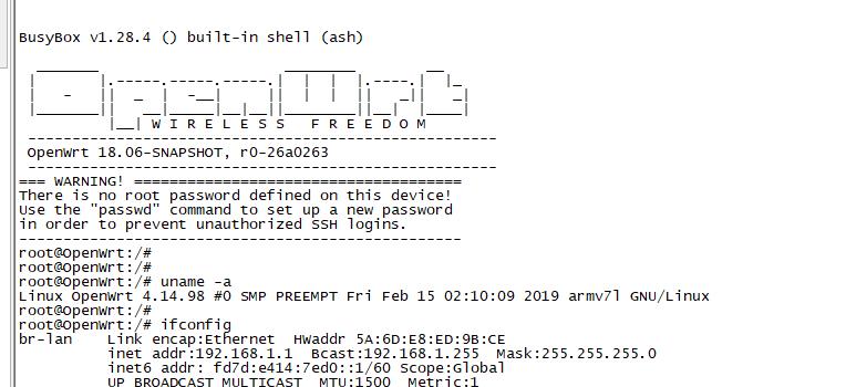 SD card preparation for OpenWRT - Banana Pi BPI-R2/BPI-R64