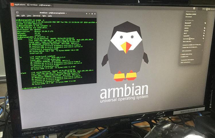 M64 support armbian compile mainline linux code fixed gmac