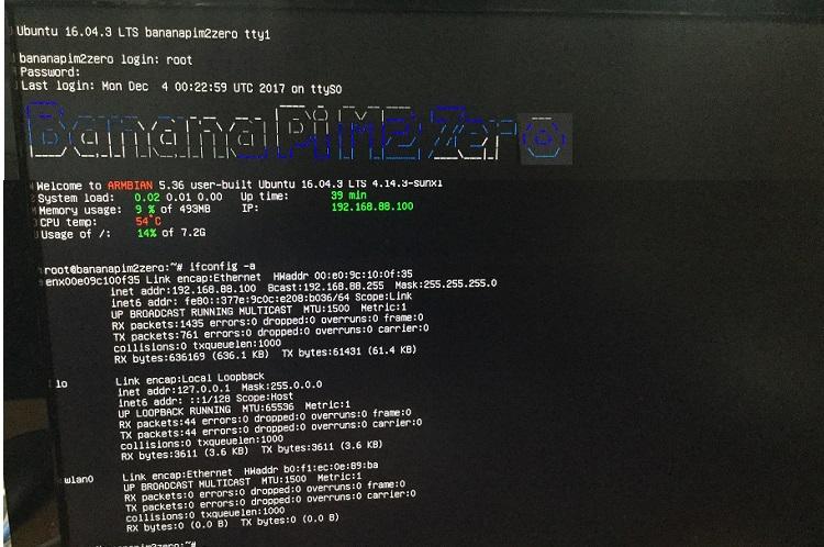 BPI-M2 Zero new image:2017-12-03-Armbian-5 36-m2-zero-Ubuntu